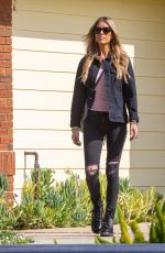 CHRISTINA ANSTEAD Out Filming in Orange County 02/10/2021