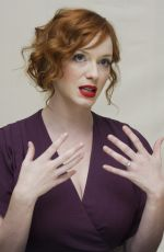 CHRISTINA HENDRICKS at Mad Men Press Conference 08/28/2009