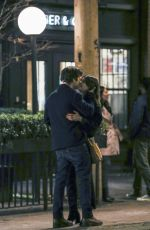 DAISY EDGAR JONES and Sebastian Stan Kissing on the Set of Fresh in Vancouver 02/10/2021