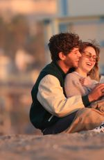DELILAH HAMLIN and Eyal Booker at a Romantic Valentine