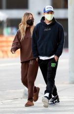DELILAH HAMLIN and Eyal Booker Leaves Zinque Caffee in West Hollywood 02/02/2021