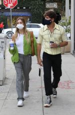 DELILAH HAMLIN and Eyal Booker Out for Coffee in West Hollywood 02/03/2021