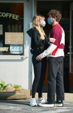 DELILAH HAMLIN and Eyal Booker Out for Coffee in West Hollywood 02/12/2021