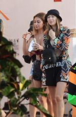 DEMI SIMS and FRANCESCA FARAGO on Vacation in Mexico 02/11/2021