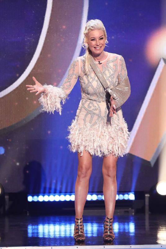 DENISE VAN OUTEN at Dancing on Ice 01/31/2021
