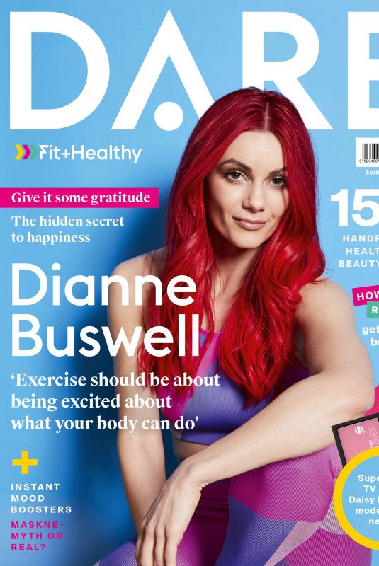 DIANE BUSWELL for DARE Fit And Healthy Magazine, Spring 2021