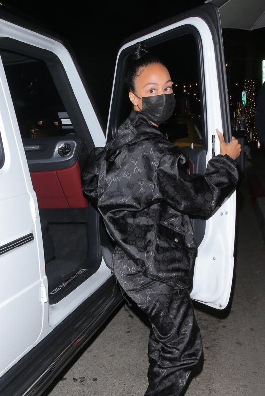 DRAYA MICHELE at Mr. Chow in Beverly Hills 02/24/2021