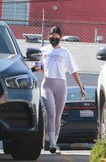 EIZA GONZALEZ Leaves a Gym in Los Angeles 02/22/2021