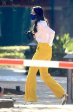 EIZA GONZALEZ Leaves a Meeting in Los Angeles 02/08/2021