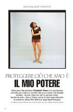 ELIZABETH OLSEN in Grazia Magazine, Italy February 2021