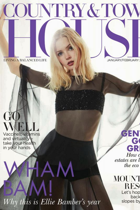 ELLIE BAMBER in Country & Town House Magazine, January/February 2021