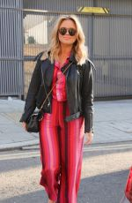 EMILY ATACK Arrives at Saturday Kitchen in London 02/27/2021