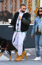 EMILY RATAJKOWSKI and Sebastian Bear McClard Out with Their Dog in New York 02/21/2021
