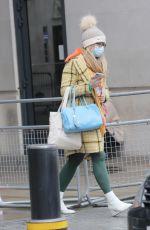 EMMA BARNETT Leaves BBC Studio in London 02/03/2021