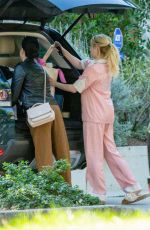 EMMA ROBERTS Outside Her Home in Los Angeles 02/24/2021