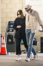 EMMA STONE Leaves a Medical Building in Los Angeles 02/26/2021