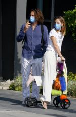 EMMA WATSON and Leo Robinton Out in Los Angeles 02/05/2021