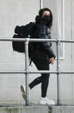 FAYE BROOKES Leaves Training Session in Manchester 02/10/2021