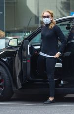 FELICITY HUFFMAN Out in Beverly Hills 02/16/2021