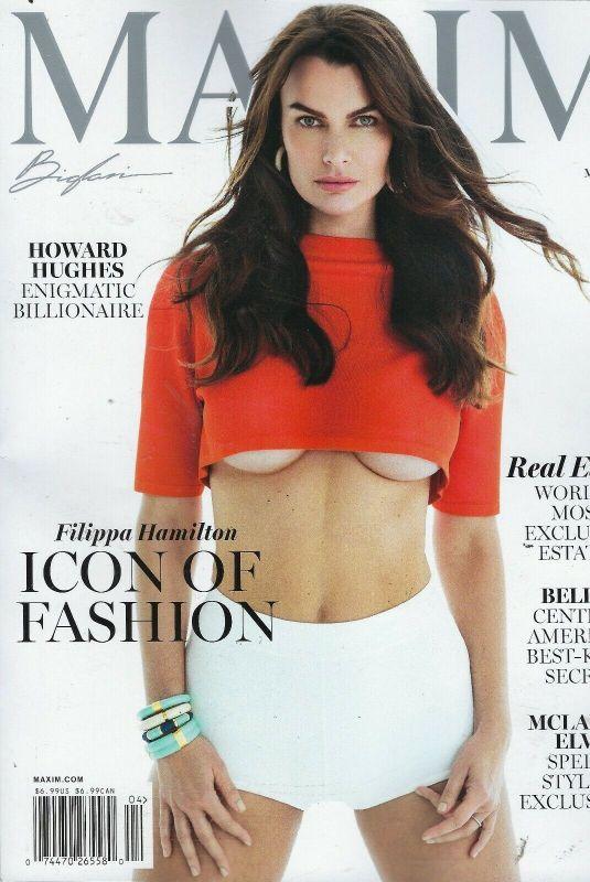FILIPPA HAMILTON on the Cover of Maxim Magazine, March/April 2021