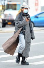FKA TWIGS Out and About in New York 02/17/2021