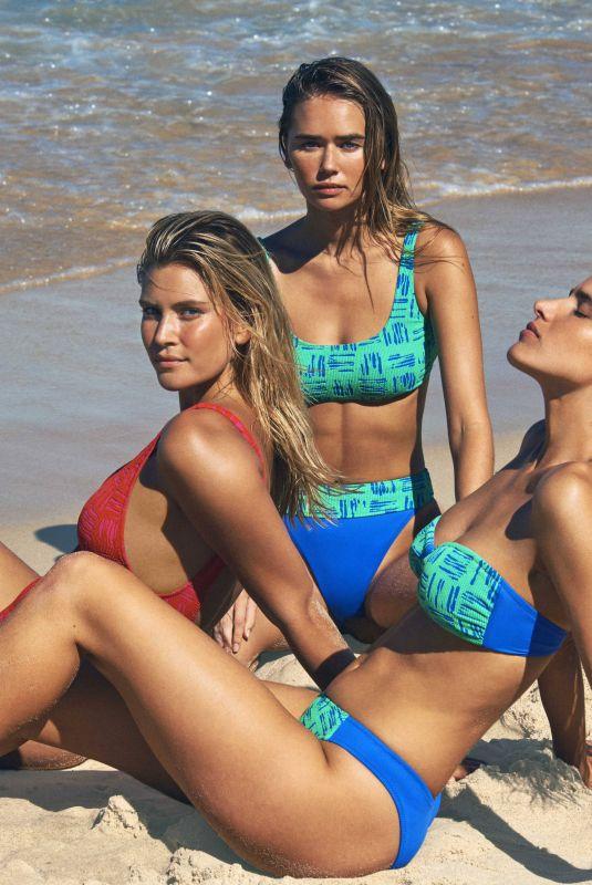 GABRIELLA BROOKS, TAHNEE ATKINSON and ELLE WAGNER in Bikinis for Seafolly 02/12/2021