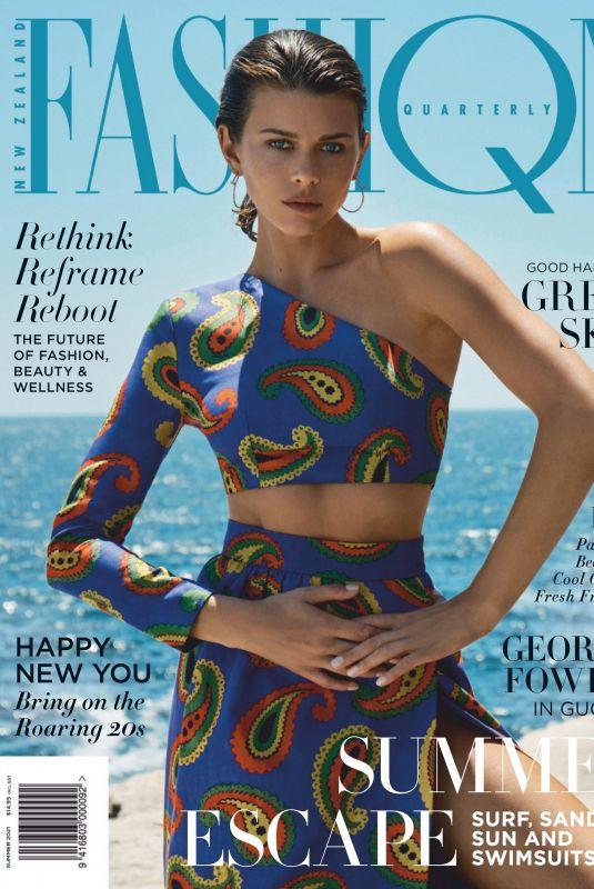 GEORGIA FOWLER in Fashion Quarterly Magazine, January 2021