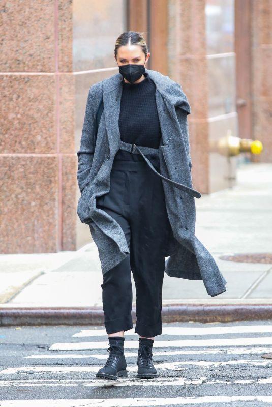 GEORGINA BURKE Out in New York 02/23/2021