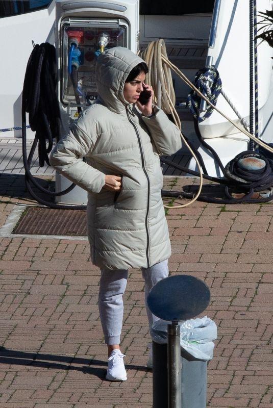 GEORGINA RODRIGUEZ Out in Turin 02/13/2021