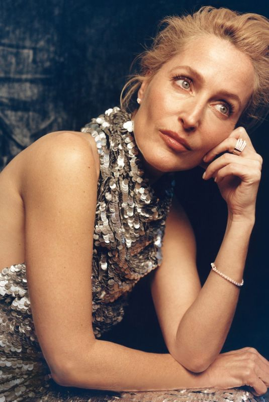 GILLIAN ANDERSON for Instyle Magazine, March 2021