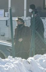 GILLIAN ANDERSON on the Set of White Bird: A Wonder Story in the Czech Republic 02/12/2021
