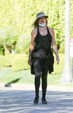 GOLDIE HAWN Out Hiking in Los Angeles 02/26/2021