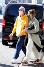 HAILEY and Justin BIEBER Out for Breakfast in Beverly Hills 02/20/2021