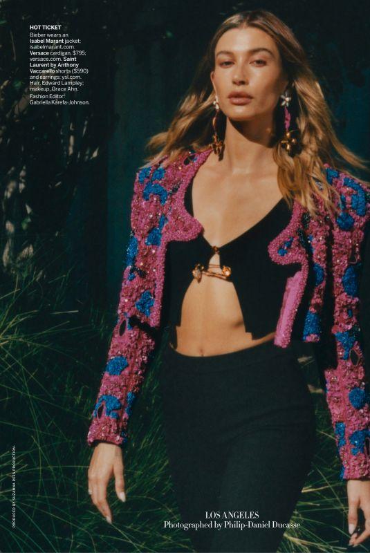 HAILEY BIEBER in Vogue Magazine, March 2021