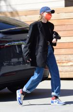 HAILEY BIEBERT Out and About in Santa Monica 02/25/2021