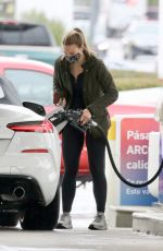 HANNAH BROWN at a Gas Station in Los Angeles 01/31/2021