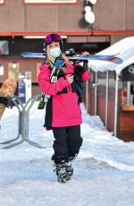 HEIDI MONTAG Out Skiing in Lake Tahoe 02/11/2021