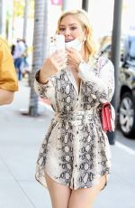 HEIDI MONTAG Shopping at LePerla on Rodeo Drive in Beverly Hills 02/13/2021