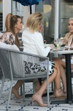 HRISHELL STAUSE, HEATHER RAE YOUNG and MARY FITZGERALD Out for Lunch in West Holywood 02/24/2021