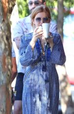 ISLA FISHER Out for Coffee in Sydney 02/07/2021