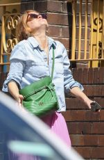 ISLA FISHER Out on Her 45th Birthday in Sydney 02/03/2021