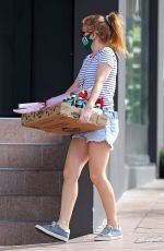 ISLA FISHER Out Shopping at Rose Bay in Sydney 02/14/2021