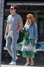 ISLA FISHGER and Sacha Baron Cohen Out in Sydney 02/03/2021