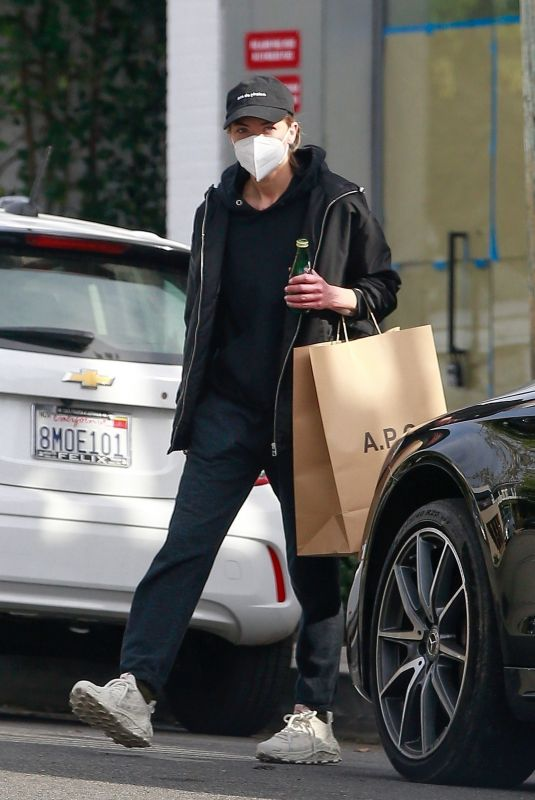 JAIME KING Out Shopping in Los Angeles 02/15/2021