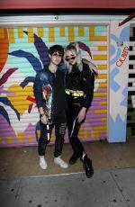 JANA SOSS and ERILA S at The Den in Los Angeles 02/20/2021