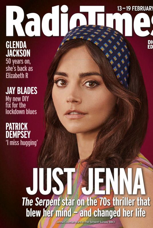 JENNA LOUISE COLEMAN in Radio Times Magazine, February 2021
