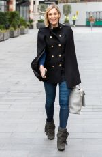 JENNI FALCONER Leaves Smooth FM in London 02/19/2021