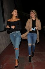 JENNIFER LAHMERS Out for Dinner with a Friend in Los Angeles 02/14/2021