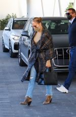 JENNIFER LOPEZ and Alex Rodriguez Out for Lunch in Coral Gables 02/03/2021