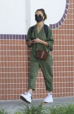 JESSICA ALBA Out and About in Beverly Hills 02/07/2021